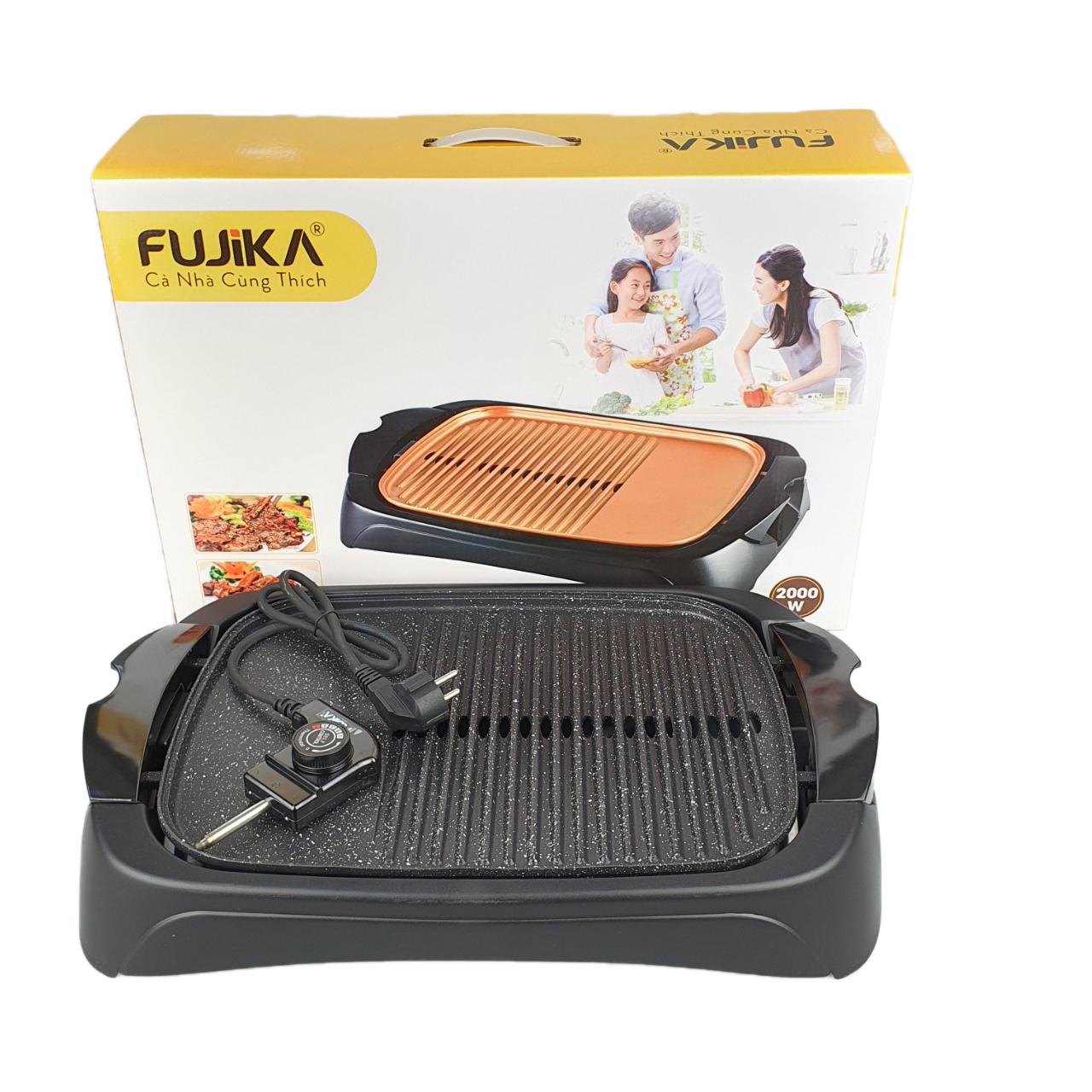 Bếp Nướng Điện Cao Cấp Fujika FJ-EG3620 Công Suất 2000W Nướng Cực Nhanh Dễ Dàng Vệ Sinh-Hàng Chính Hãng