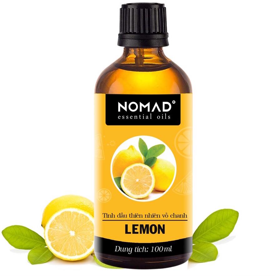 Tinh Dầu Thiên Nhiên Hương Chanh Tươi  Nomad Essential Oils Lemon 30ml