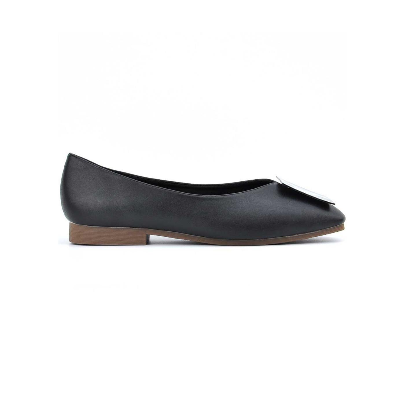 [HOT] Giày búp bê nữ đế bệt phối nơ vuông siêu chất PABNO -BH 12 Tháng- PN12010