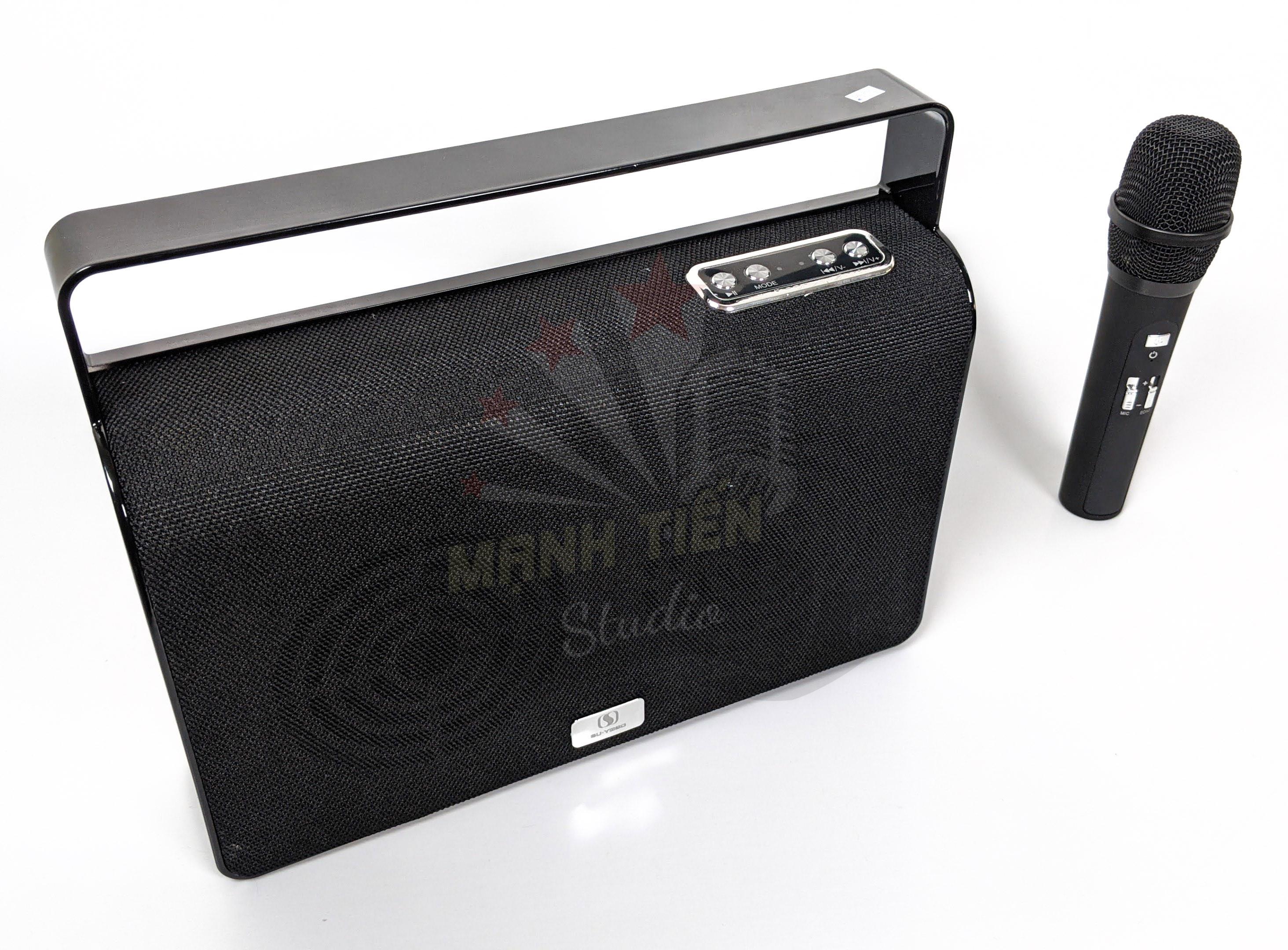 Loa karaoke bluetooth A36 - Loa xách tay thời trang độc lạ - Tặng kèm 1 micro không dây - nghe nhạc, karaoke cực chất - Giao màu ngẫu nhiên