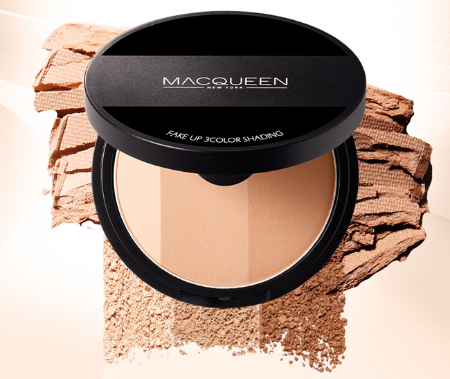 Phấn Tạo Khối Macqueen Fake Up 3 Color Shading 1