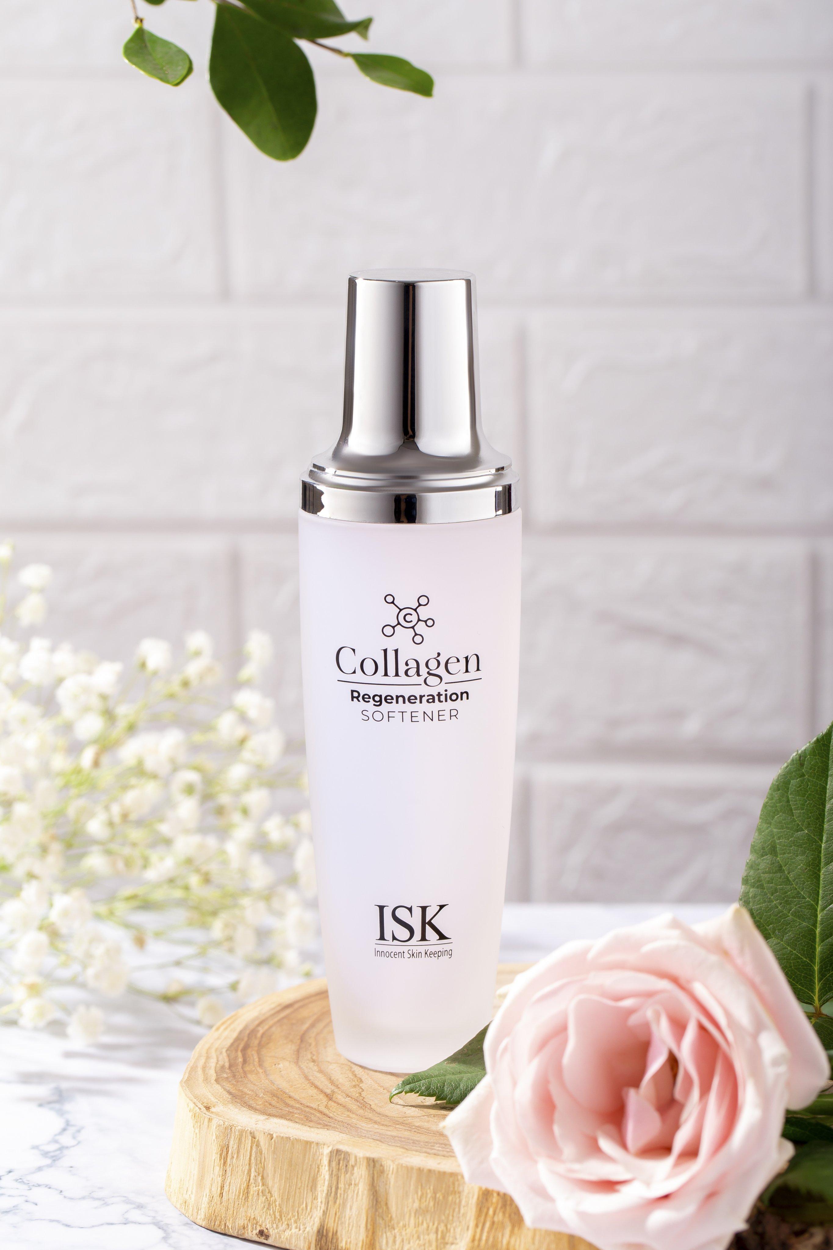 Nước Hoa Hồng Collagen dưỡng ẩm trẻ hóa làn da ISK - 130ml