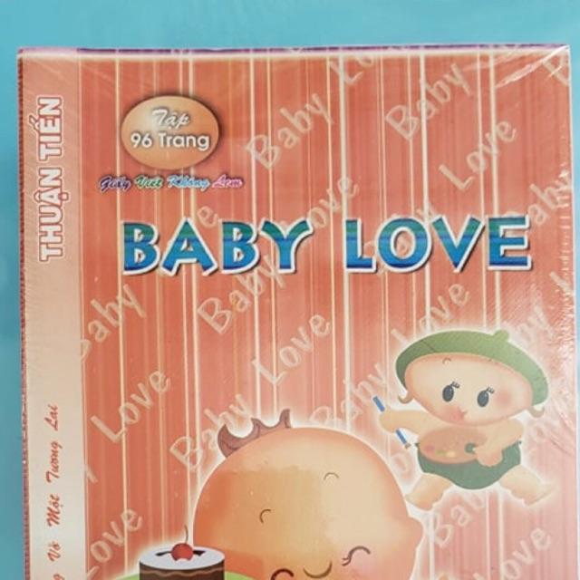 Tập HS 96T Baby Love Tân Thuận Tiến 100gsm
