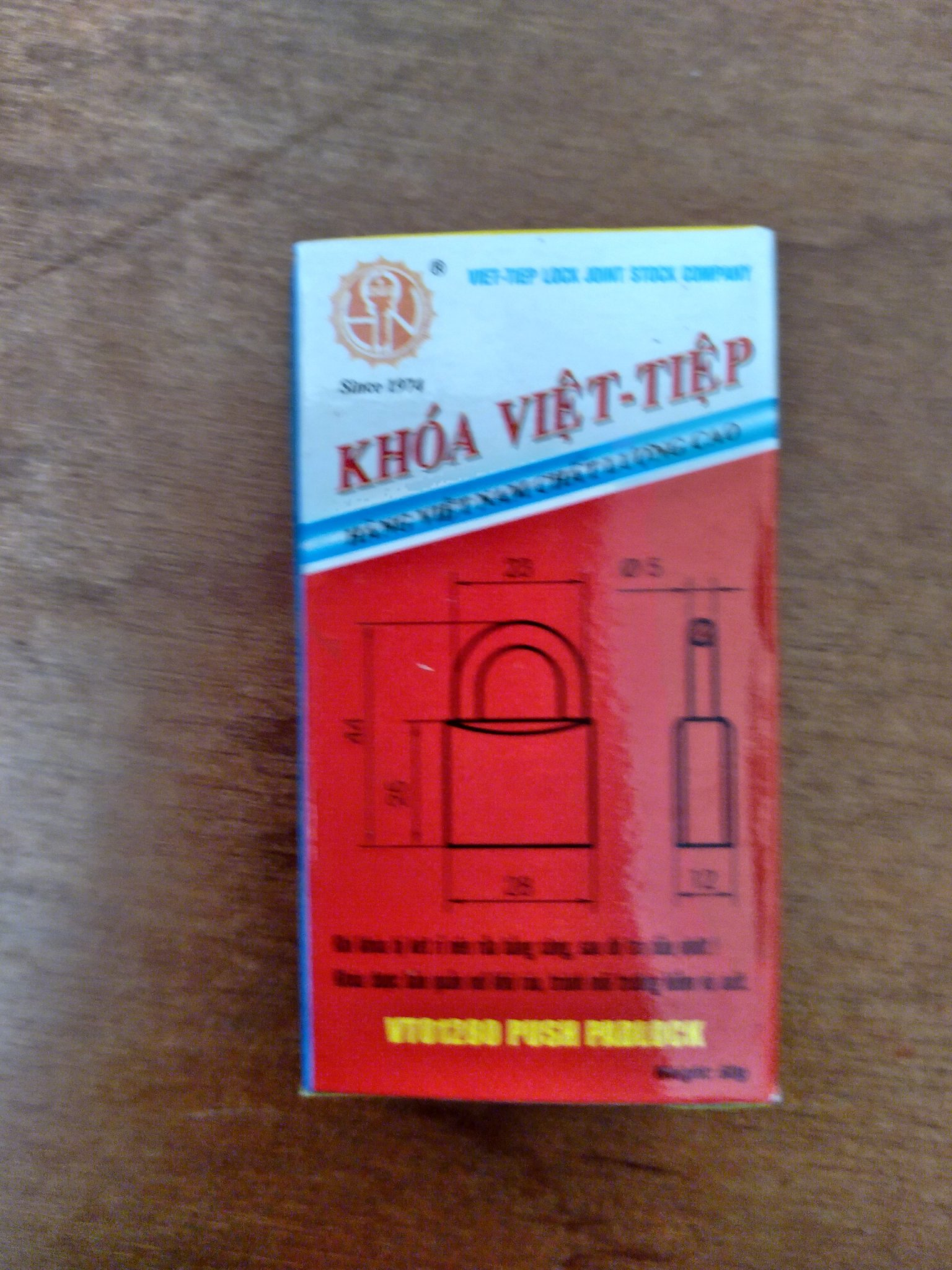 Khóa vali Việt Tiệp