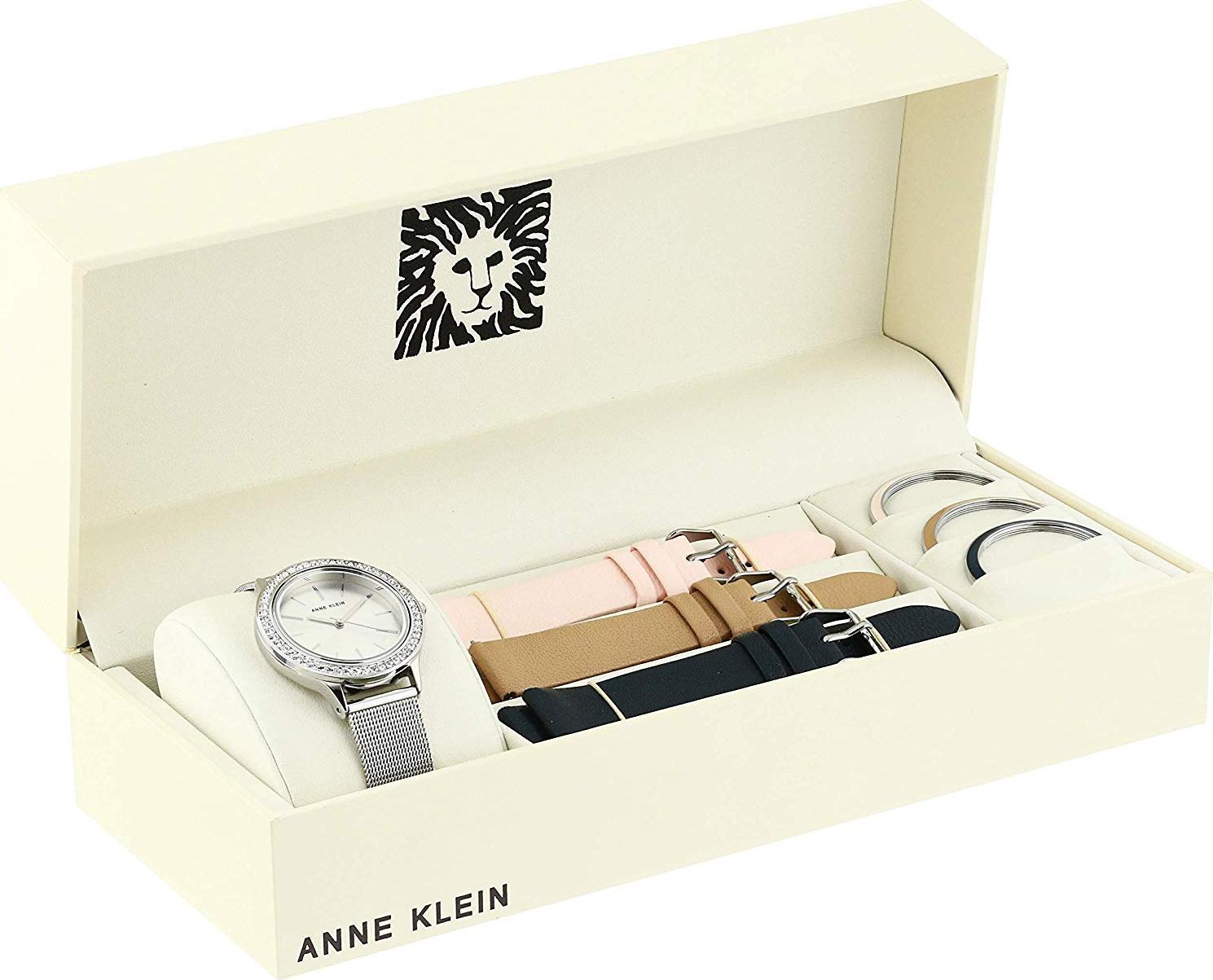 Bộ đồng hồ và vòng tay ANNE KLEIN 3419SVST