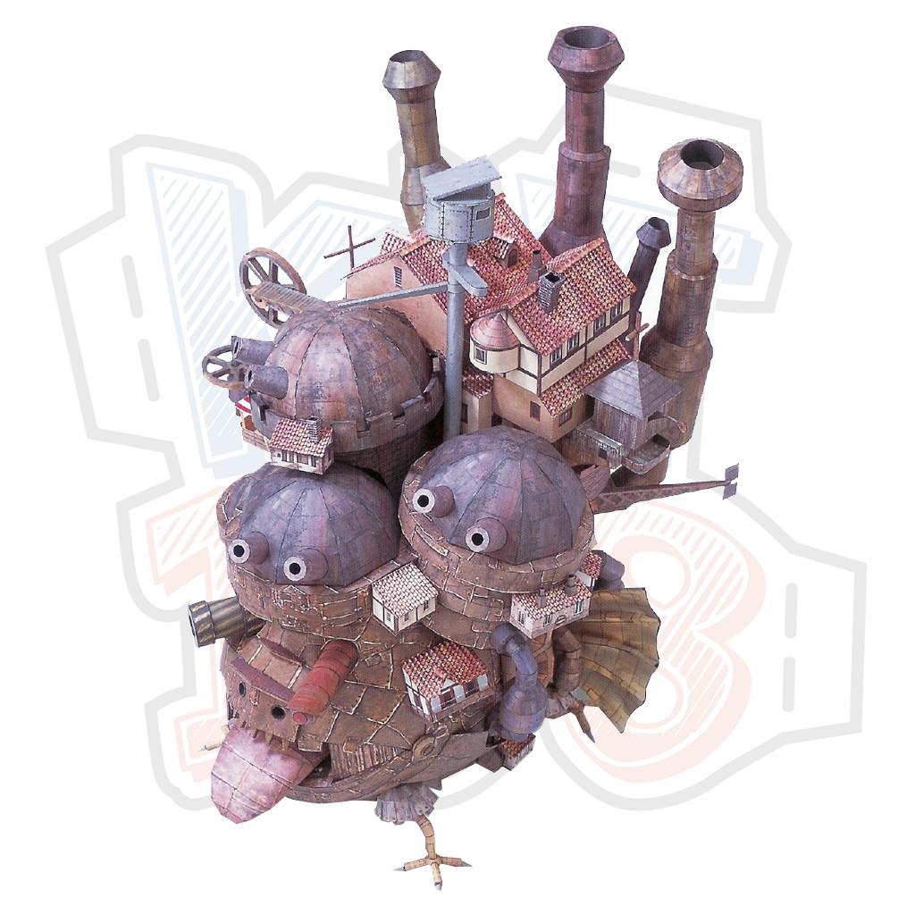 Mô hình giấy Anime Game Howl's Moving Castle