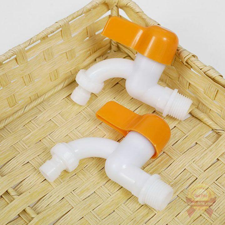 VÒI NHỰA nước van nước vòi gắn tường nhà tắm giá rẻ ống phi