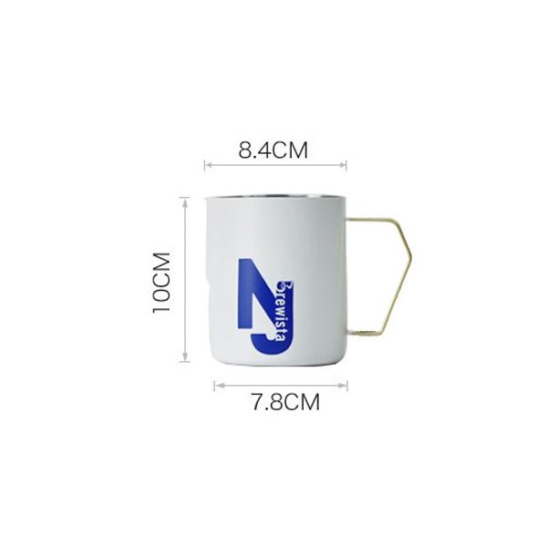 Ca đánh sữa Nasty Jug -  Brewista X Series 400ml