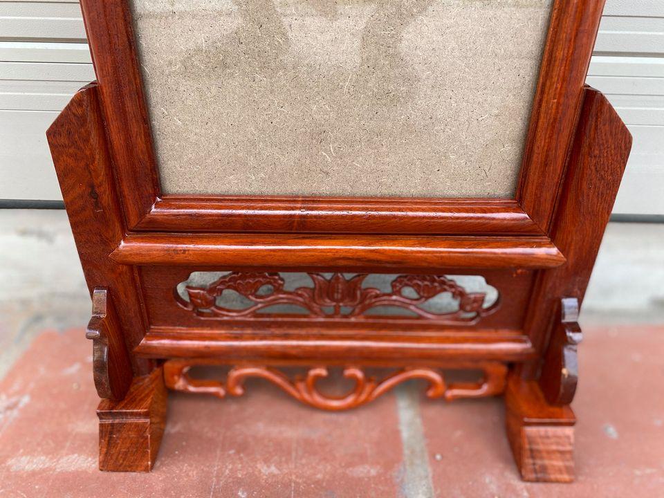 Khung ảnh thờ gỗ hương( kt ảnh 15x21, 18x24) hàng đẹp