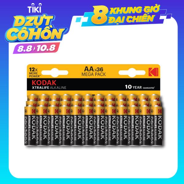 Bộ 36 Pin Kodak Alkaline AA x12 UBL IB0238