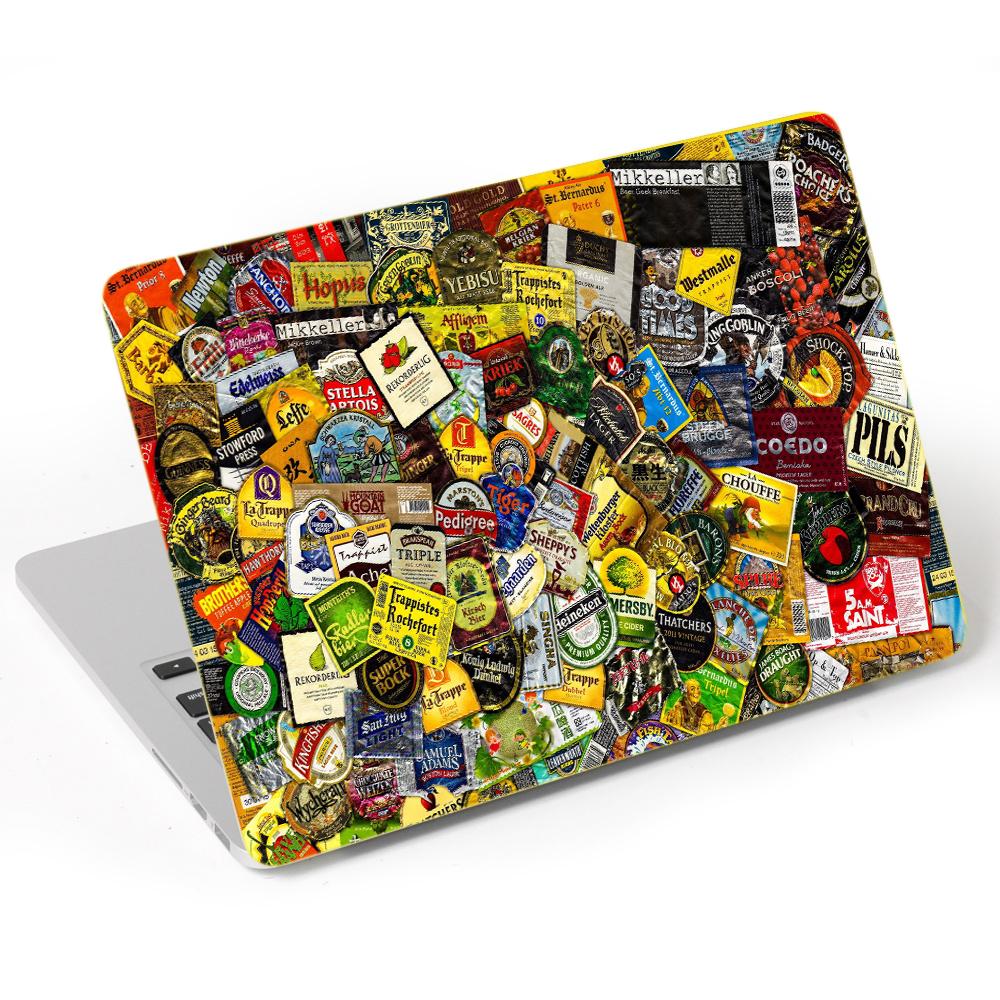 Mẫu Dán Skin Trang Trí Mặt Ngoài + Lót Tay Laptop Hoa Văn LTHV - 508