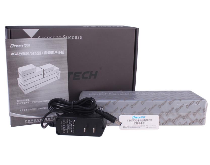 Bộ gộp tín hiệu  VGA 2 vào 1 ra DTECH DT-7032 chính hãng