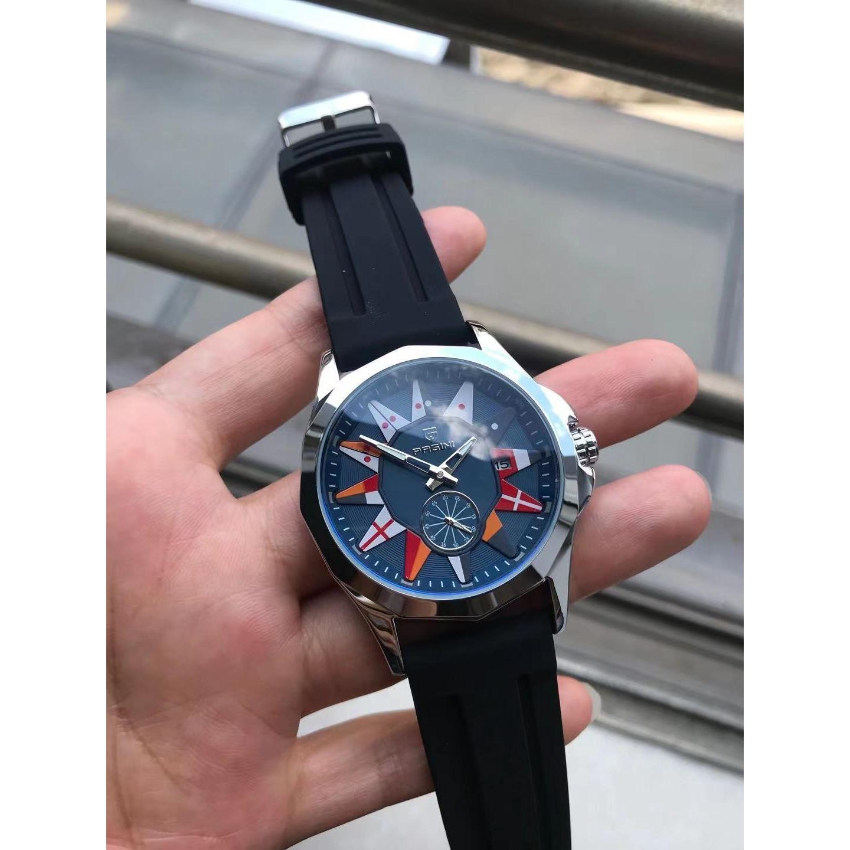 Đồng hồ nam PAGINI phiên bản giới hạn 3 kim kính đổi màu – Tặng pin dự phòng – PA001797