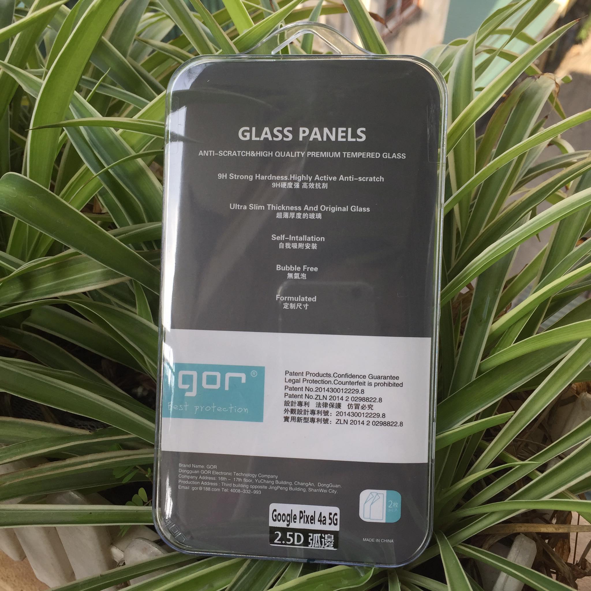 Bộ 2 Kính Cường Lực GOR cho Pixel 4A 5G ( 2 Miếng full box ) _ Hàng Nhập Khẩu