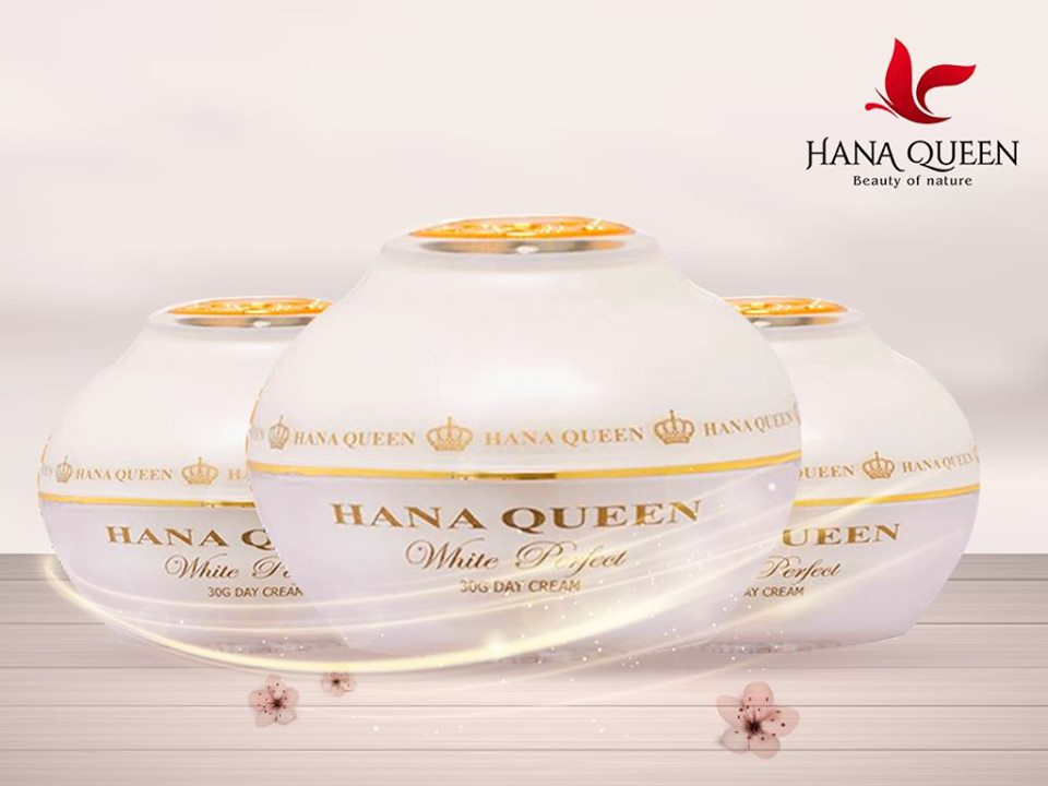 Kem Dưỡng Trắng Da Mờ Thâm Nám- White Pefect Day Cream Hanaqueen