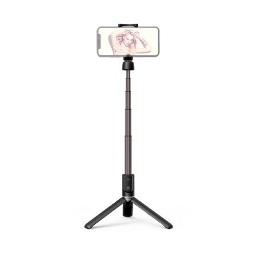 Gậy selfie chụp hình Hoco Bluetooth tiện lợi ( Đen)- Hàng chính hãng