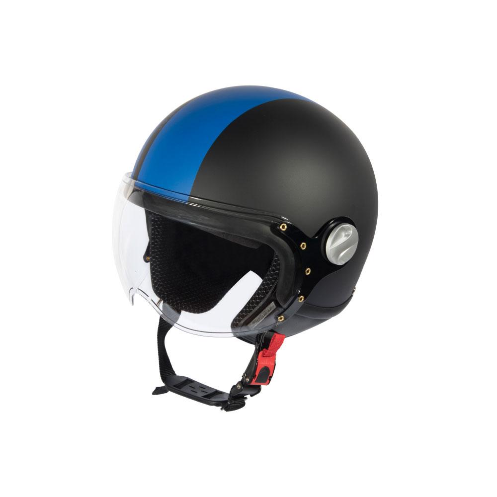 Mũ Bảo Hiểm Andes 3/4 Đầu Có Kính - 3S103D Tem Nhám W204