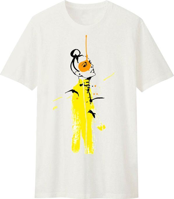 Áo T-Shirt Unisex Dotilo Painting Girl - Hu086 - Size M