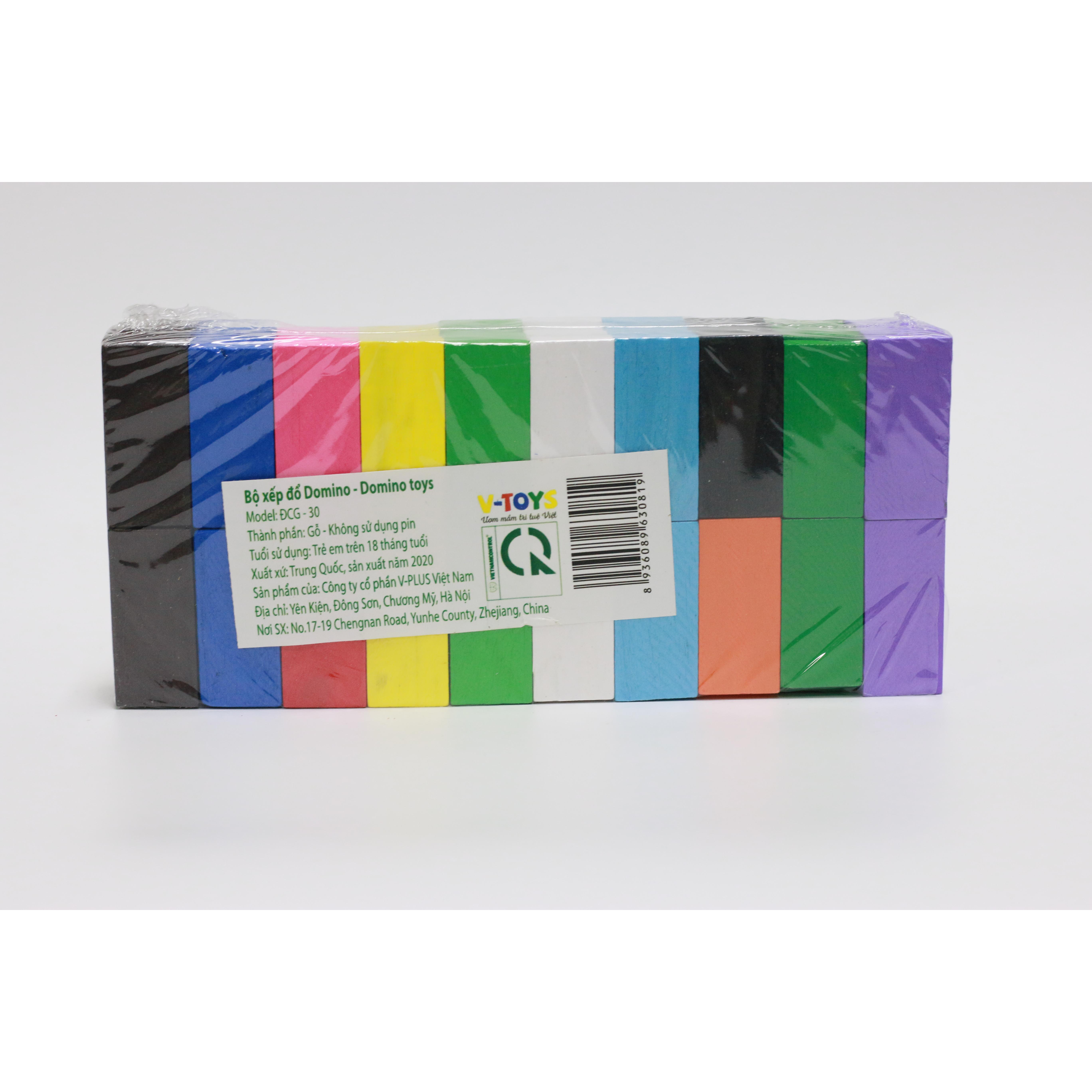 Trò chơi Domino xếp đổ màu sắc