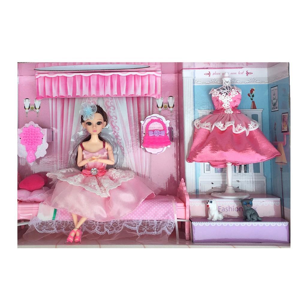 Đồ chơi búp bê công chúa và phụ kiện phòng ngủ  755-233