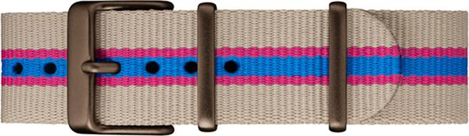 Đồng hồ Dây Vải Nữ Timex MK1 Aluminum California 40mm Fabric Strap Watch - TWT25600