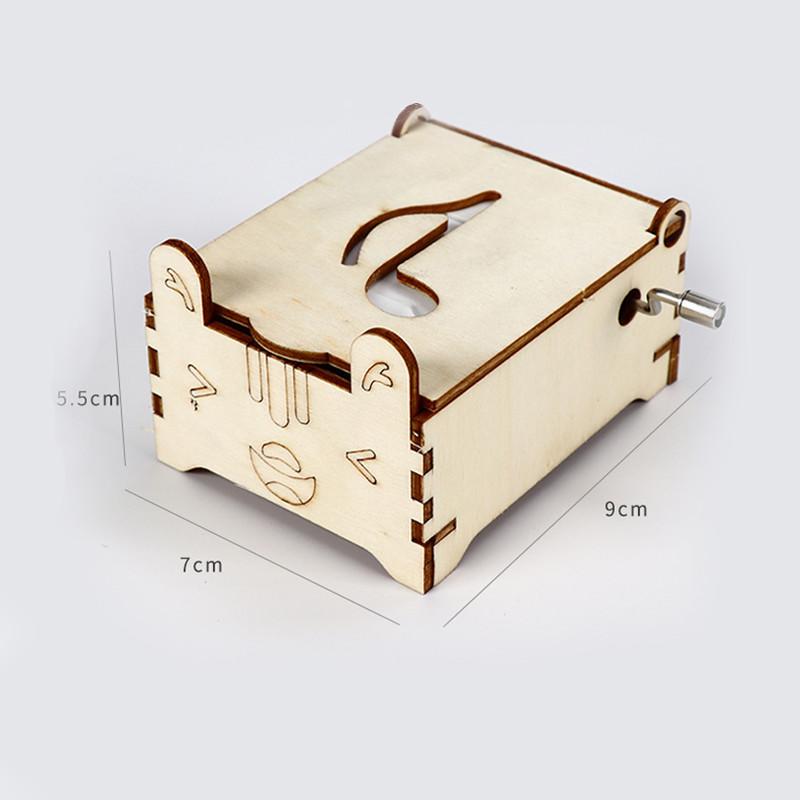 Bộ đồ chơi khoa học tự làm hộp nhạc bằng gỗ – DIY Wood Steam