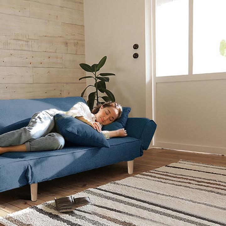 Ghế Sofa Phòng Khách Đa Năng - Ghế Sofa Kiêm Giường Nằm 1m75 - Ghế Sofa Lười - Salon Phòng Khách - Ghế Sofa Gấp Gọn Đa Năng, Ghế Sofa Giường Cao Cấp