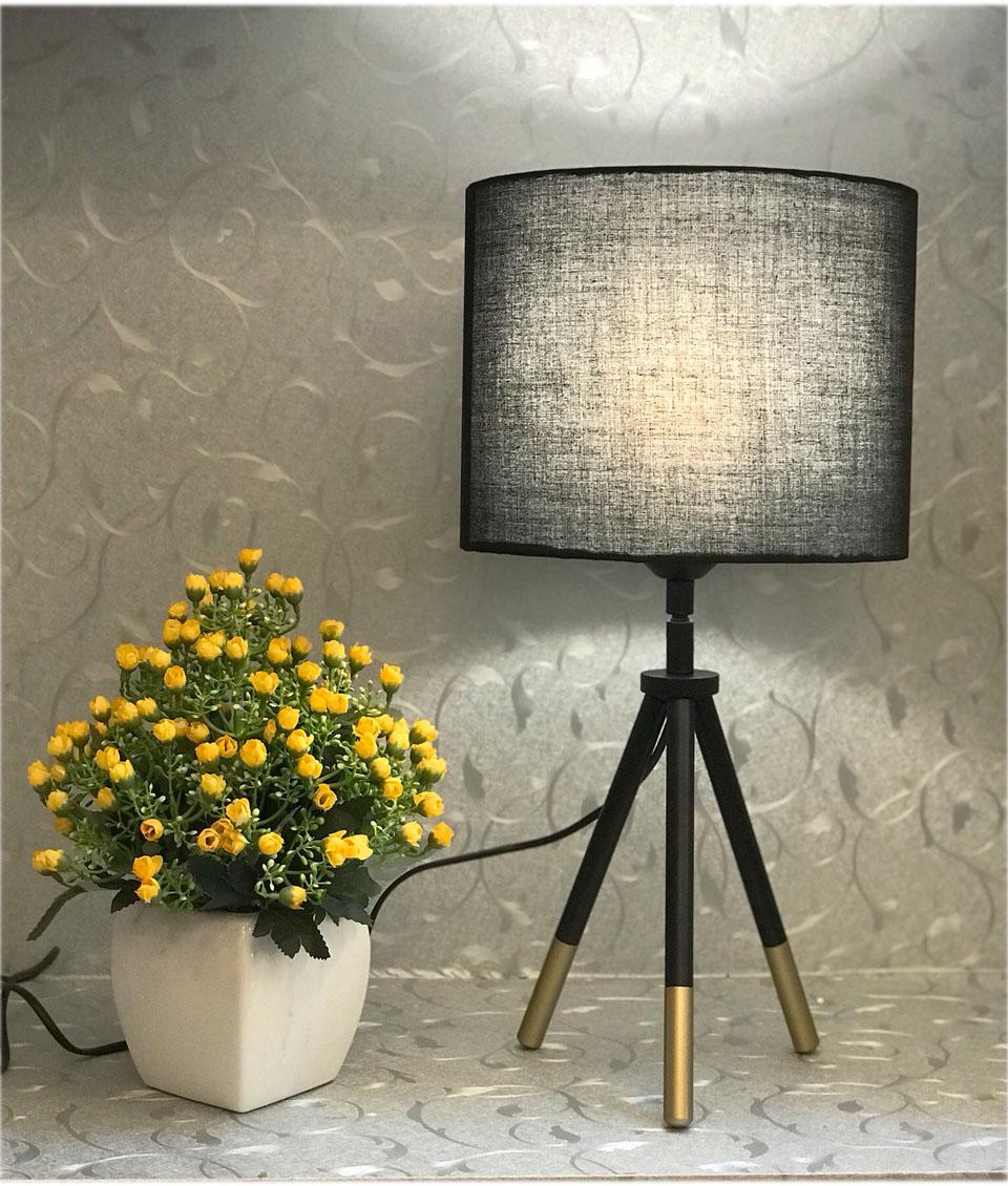 Đèn bàn - đèn ngủ để bàn trang trí phòng ngủ hiện đại vintage MB633