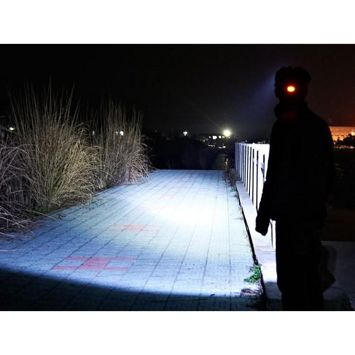 Đèn pin Led siêu sáng đội đầu 3 bóng 1