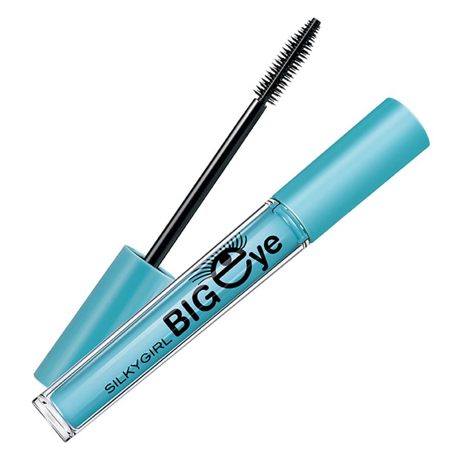 Mascara Dày Dài Cong Mi Big Eye Collagen Waterproof GE0221-01 (18ml)