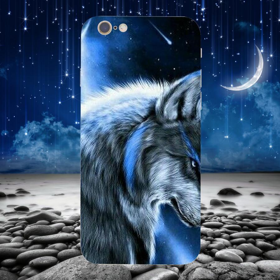 Ốp Lưng Con Sói,Dành Cho Máy iPhone 6 ,iphone 6s Ốp Cứng Viền TPU Dẻo,Ốp Cao Cấp Chính Hãng ,Mã SI0001
