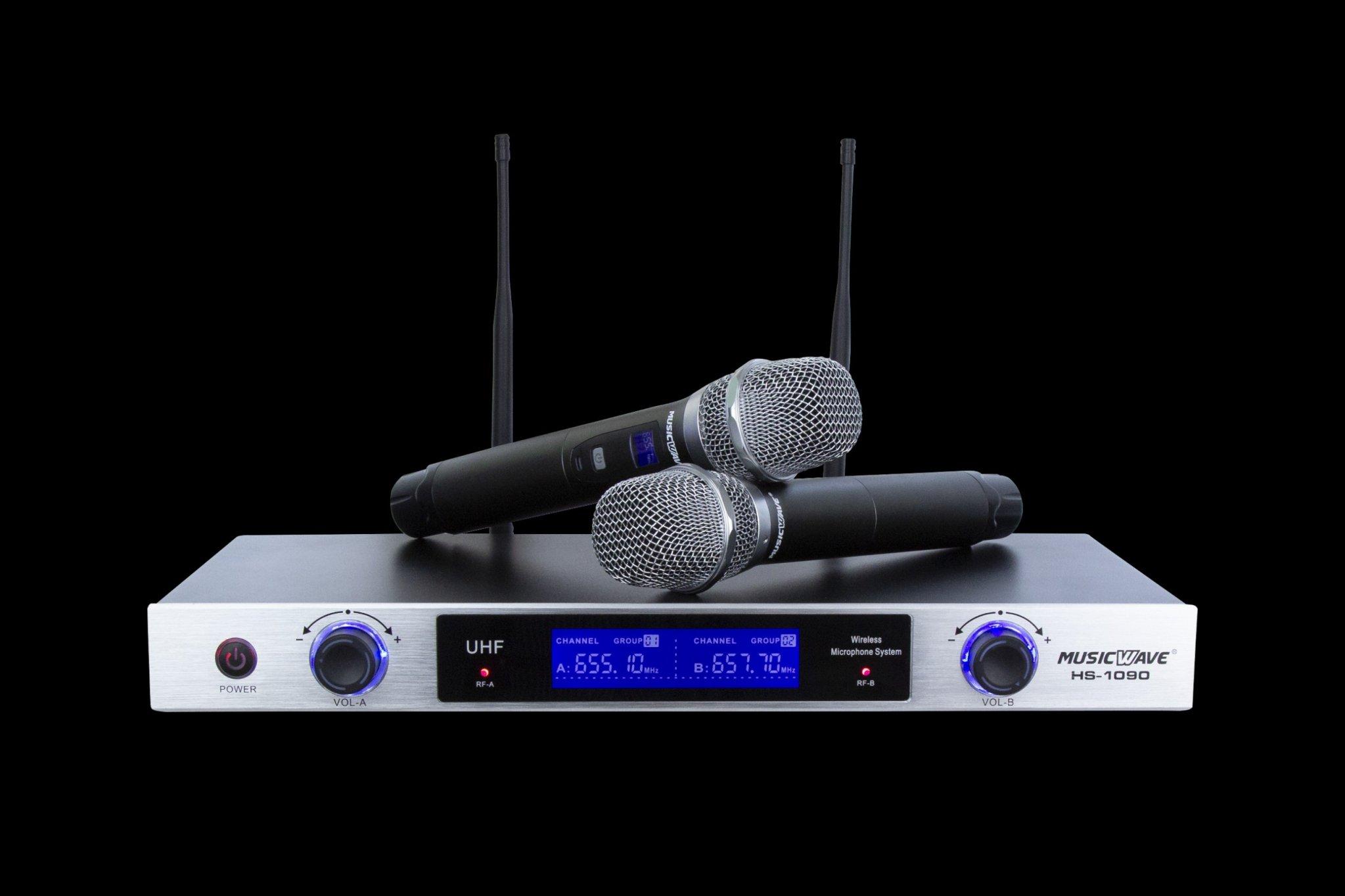 Micro Karaoke Không Dây Musicwave HS-1090 NEW 2019 _CHÍNH HÃNG