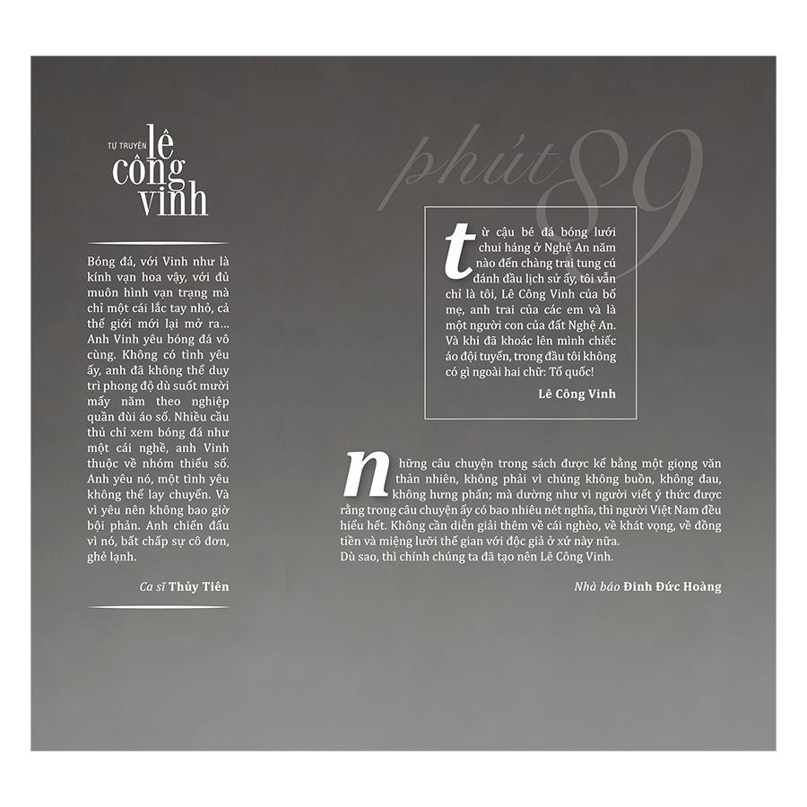 Tự Truyện Lê Công Vinh - Phút 89