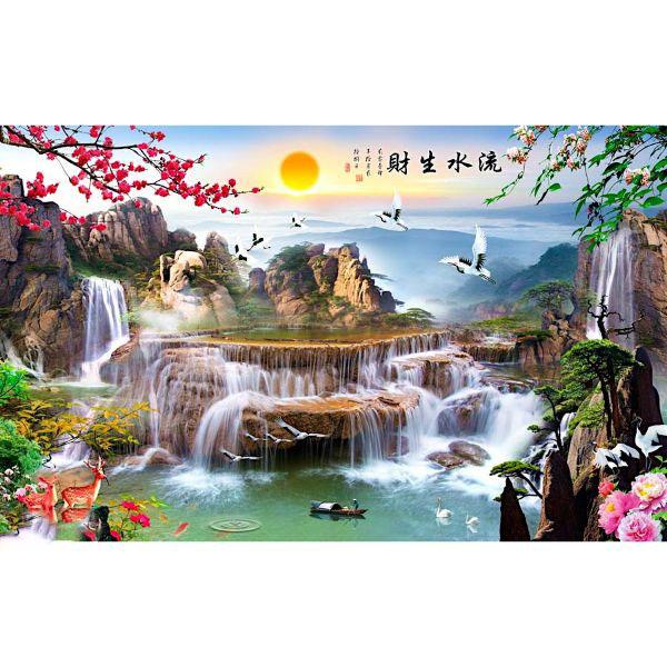 Tranh Treo Tường Sơn Thủy ST0295