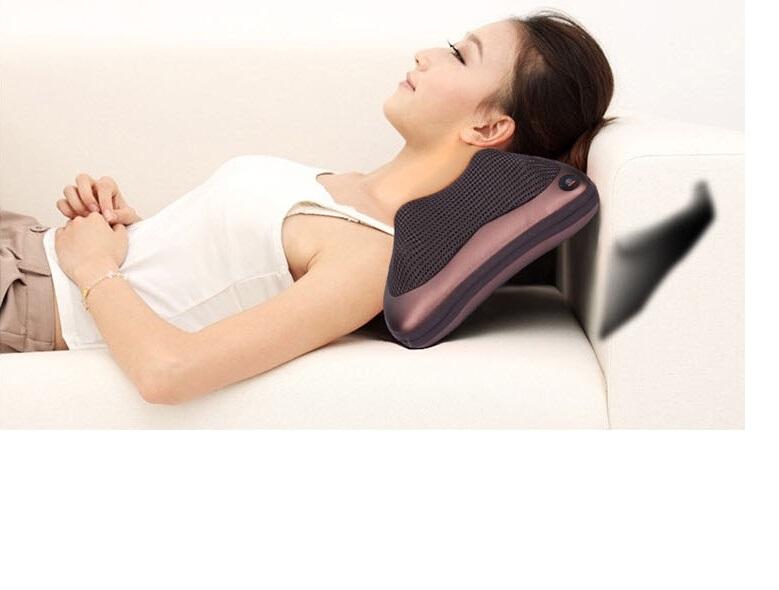 Gối massage hồng ngoại hai chiều-giao màu ngẫu nhiên