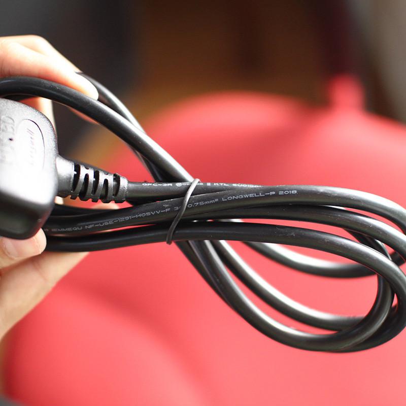 Dây nguồn máy tính có cầu trì, dây nguồn PC dài 2m lõi đồng có cầu chì chống cháy nổ - Số lượng có hạn.