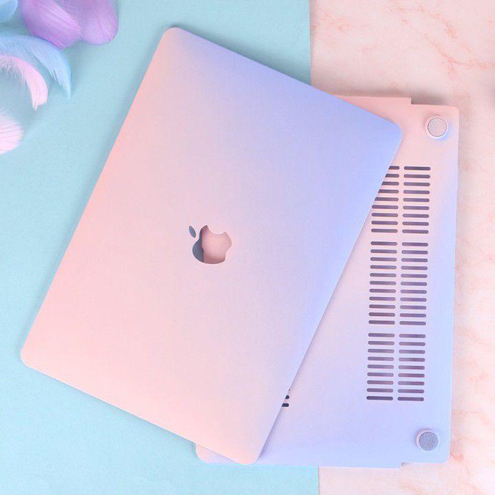 Combo ốp kèm phủ phím màu Gradient bảo vệ cho Macbook đủ dòng