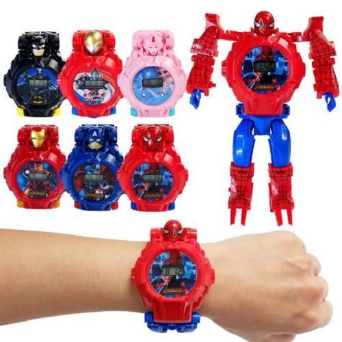 Đồng hồ robot biến hình dành cho Bé Trai/ Bé Gái
