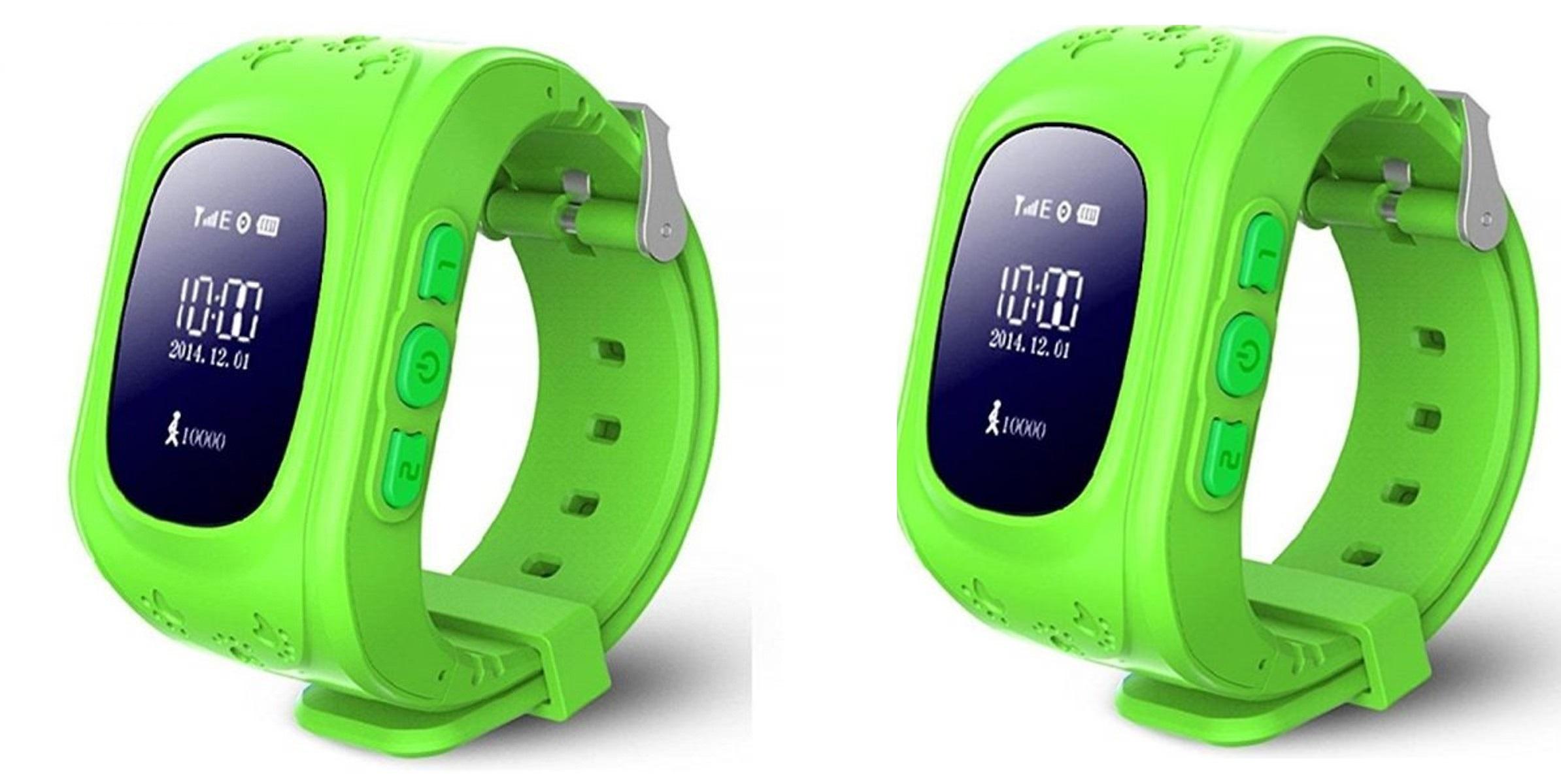 Hai đồng hồ thông minh trẻ em Q50 giao màu ngẫu nhiên - Đồng hồ thông minh  Thương hiệu OEM