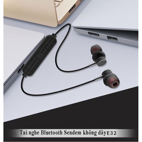 Tai nghe bluetooth hàng chất lượng cao sendem e32 -  chính hãng 100%