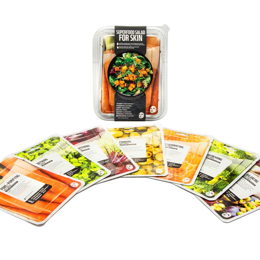 Combo 7 Mặt Nạ Dưỡng Da Farmskin Superfood For Skin B (25ml x 7 Miếng) - Mặt  nạ giấy | MuaDoTot.com