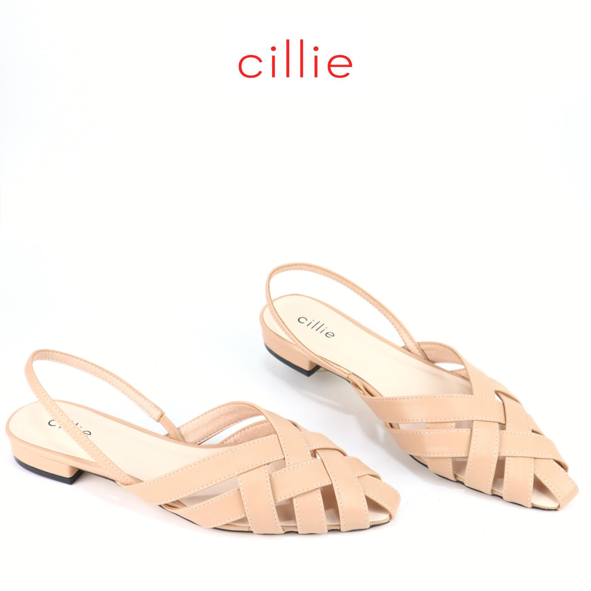 Giày sandal rọ Cillie cao 2cm 1179