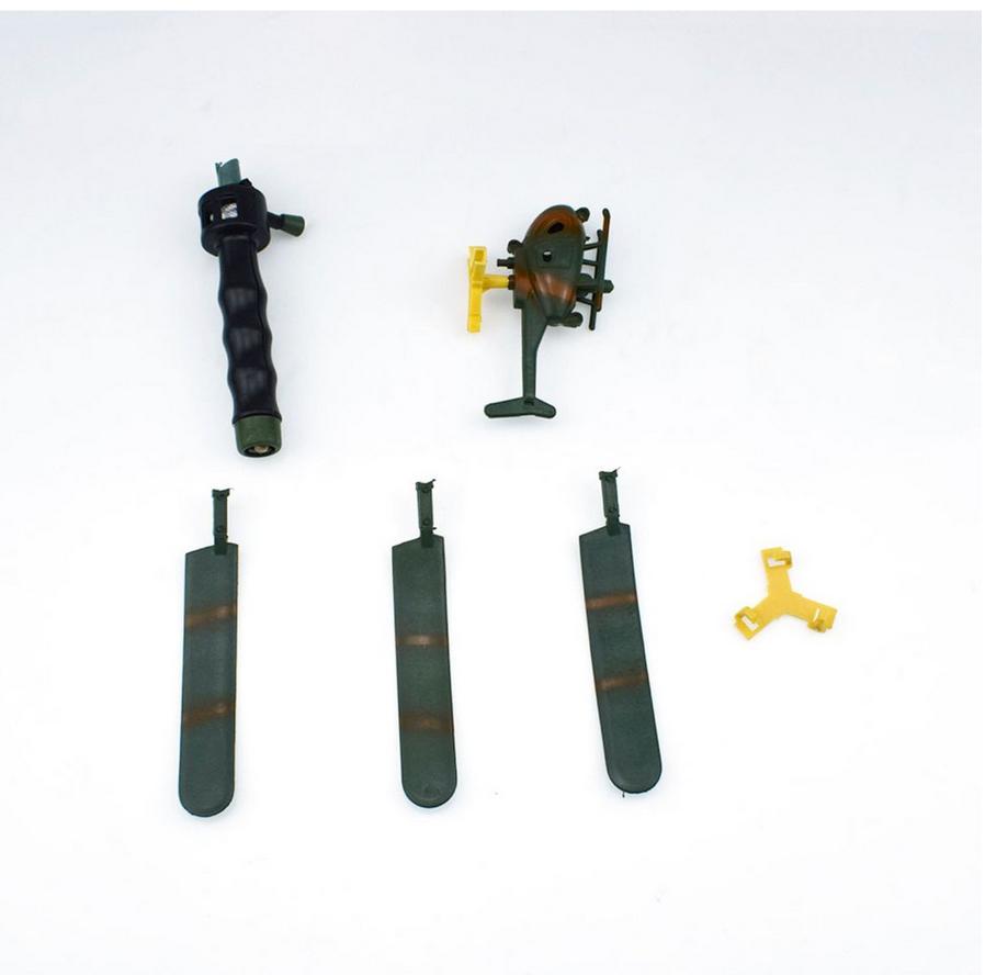 Mô hình trực thăng bay độc đáo cho bé - Đồ trang trí, đồ chơi bay an toàn - Kích thước 15*10cm