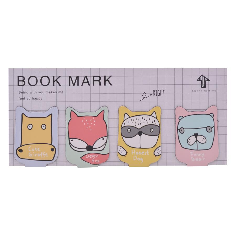 Bộ 4 Bookmark Magnet JK House