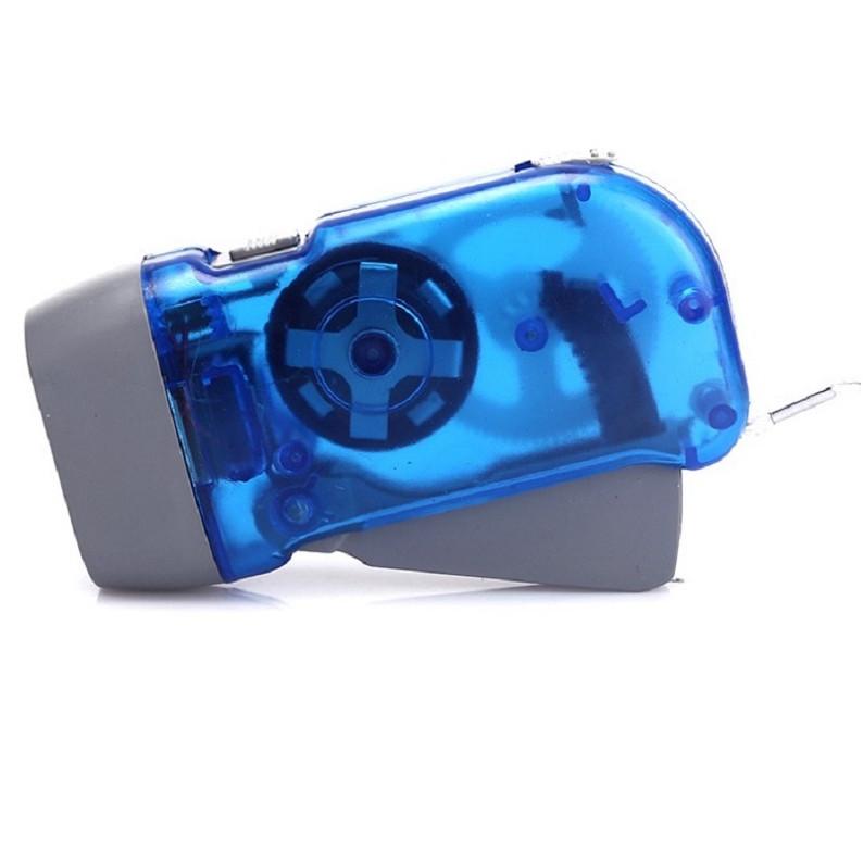 Đèn pin mini sạc cơ tay bóp