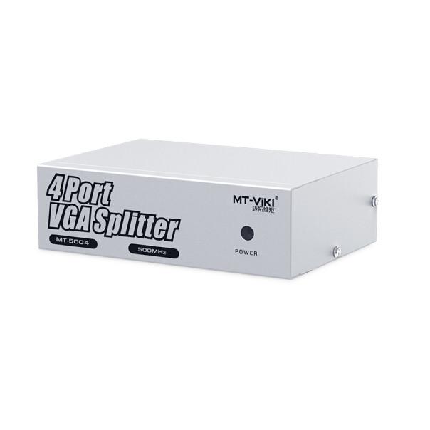 Bộ chia màn hình VGA 1 ra 4- 500Mhz (MT-5004) Chính hãng