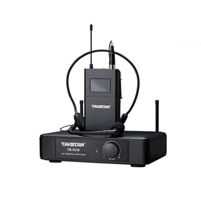 Micro gài tai không dây UHF Takstar TS-7210P. Chính hãng