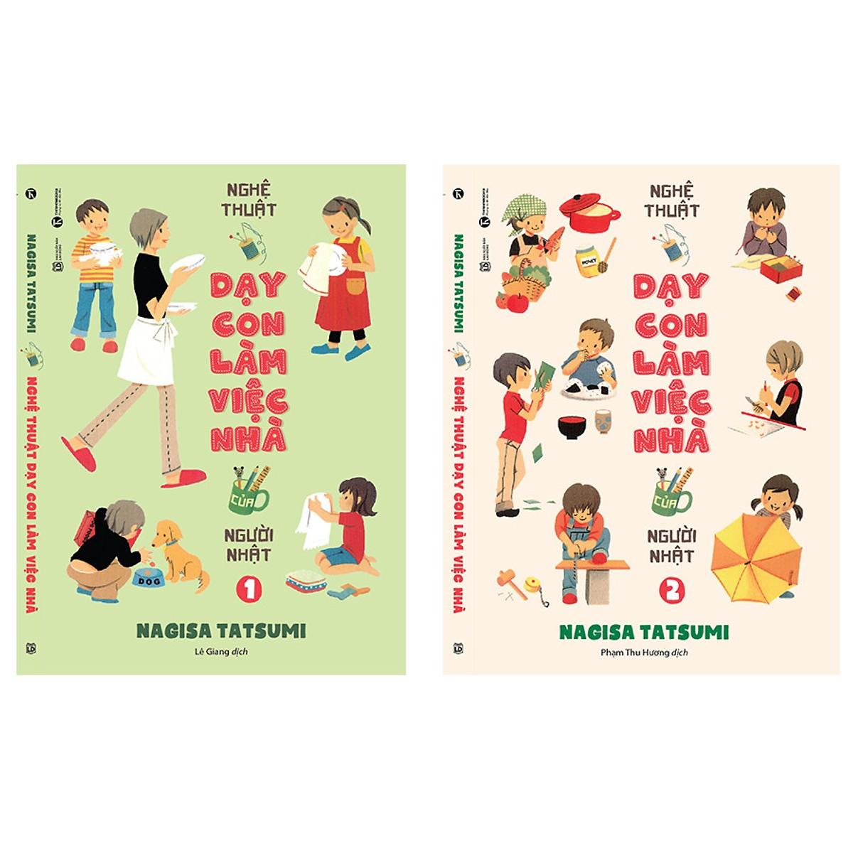 Bộ sách Nghệ thuật dạy con làm việc nhà của người Nhật
