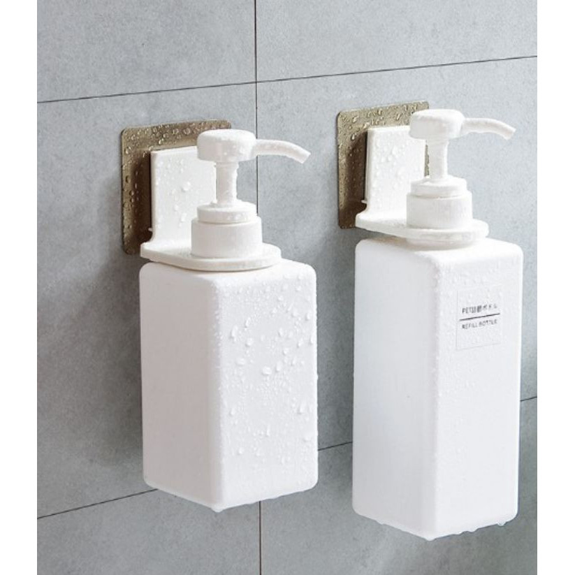 Combo 3 Móc treo chai lọ, sữa tắm ( không cần khoan)