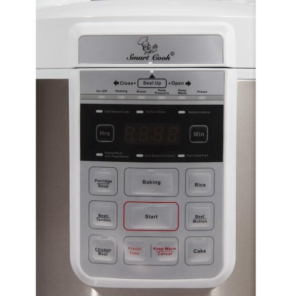 [ELMICH PCS-6990] NỒI ÁP SUẤT ĐIỆN ĐA NĂNG 5L-860W (Smartcook-4026990)